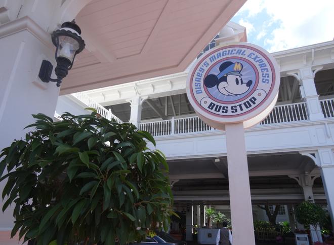 Disney's Magical Express Stop