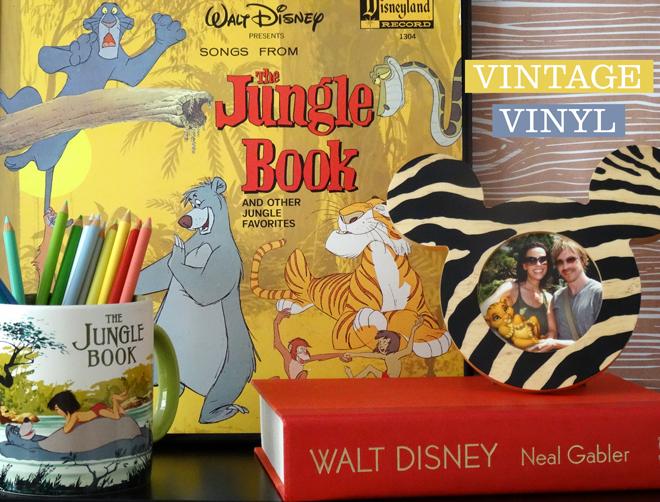Vintage Vinyl The Jungle Book Soundtrack The Disney Sophisticate
