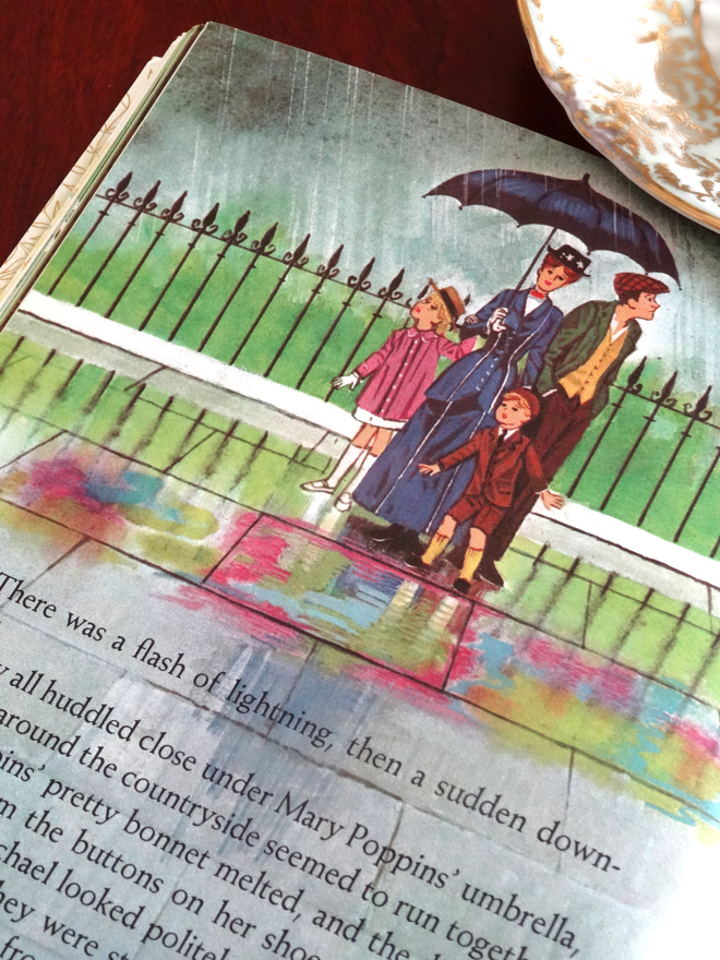 Vintage Mary Poppins Little Golden Book The Disney